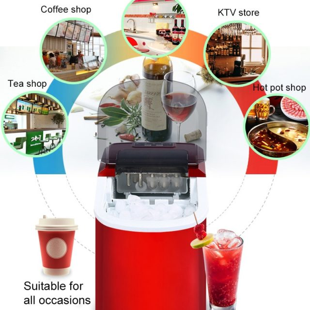 Mini Automatic Electric Ice Maker